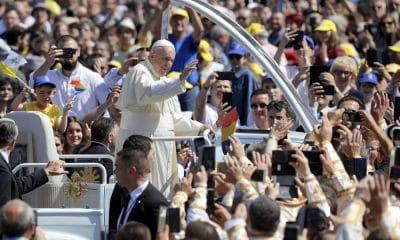 Ferenc pápa Balázsfalván