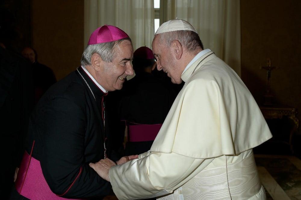Pál József Csaba és Ferenc pápa